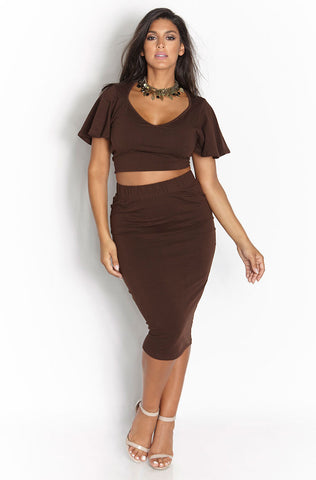 "Rebdolls ""Diamond Dancing"" Cut Out Mini Two Piece"