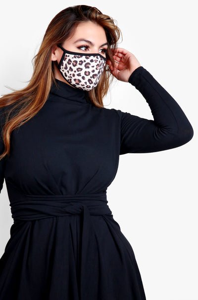 Leopard Fashion Face Mask