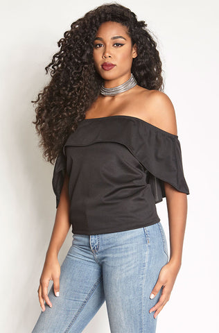 "Rebdolls ""Hype"" Clip-On Crop Top"