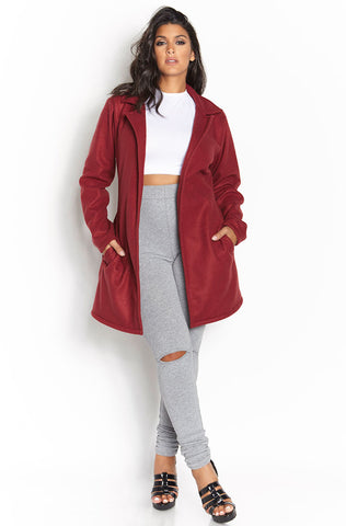 "Rebdolls ""Fall For Me"" Cotton Waterfall Duster"