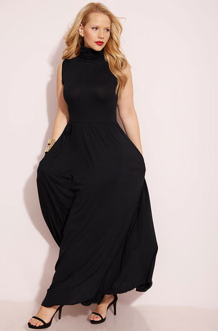 "Rebdolls ""Get To Know Me"" Skater Midi Dress With Pockets"