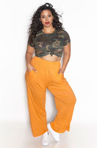 "Rebdolls ""Gold Lux"" Wrap Maxi Satin Skirt - Final Sale Clearance"