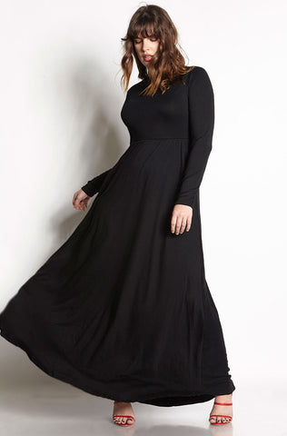 "Rebdolls ""Black Garden"" Maxi Dress"
