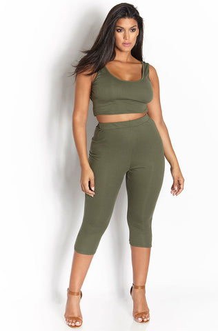 "Rebdolls ""Certified"" Ribbed Legging Set"