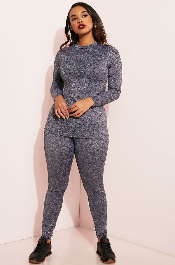 Gray Leggings plus sizes