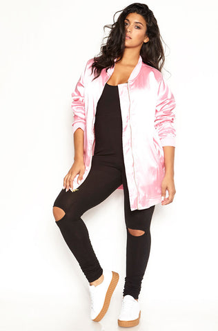 "Rebdolls ""Girl, Bye"" Chiffon Waterfall Duster"