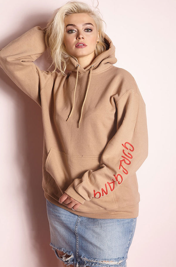 Mocha Hoodie plus sizes