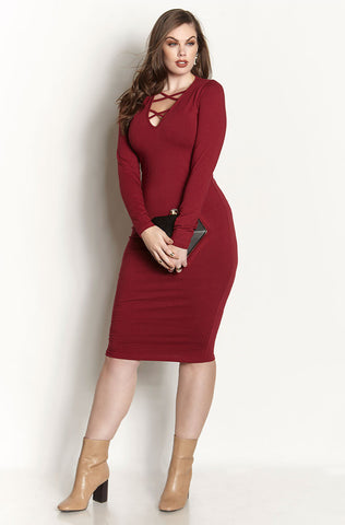"Rebdolls ""Love You Better"" Skater Midi Dress With Pockets"