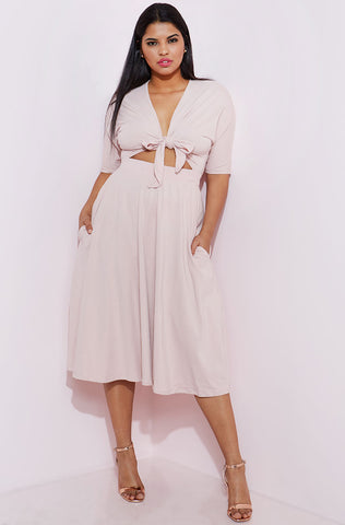 "Rebdolls ""Always On Deck"" Chiffon Tunic Dress"