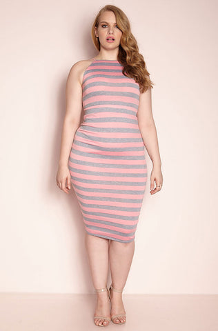 "Rebdolls ""Richter Scale"" Skater Midi Dress"