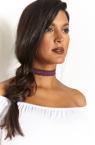"Rebdolls ""The way"" Stone Choker"