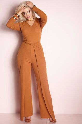 "Rebdolls ""No Other"" Printed Pleated Jumpsuit"