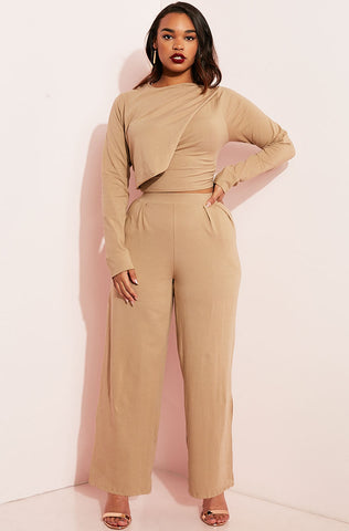 "Rebdolls ""Play Your Part"" Palazzo Pant- Final Sale"