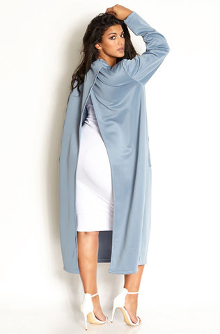 "Rebdolls ""Don't Go Chasing"" Waterfall Cotton Duster Vest"