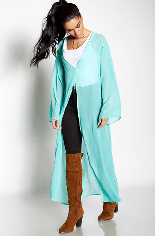 "Rebdolls ""Go-To"" Dolman Sleeve Cardigan With Pockets"