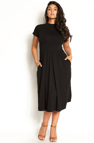 "Rebdolls ""Cherry Pie"" Over The Shoulder Spandex Maxi Dress"
