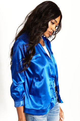 "Rebdolls ""All Lux"" Satin Trench Coat"