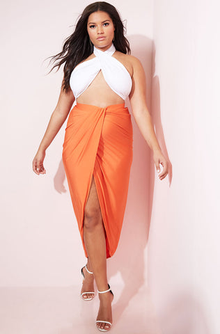 "Rebdolls ""Just In Case"" Tank Style Maxi Dress- Final Sale"