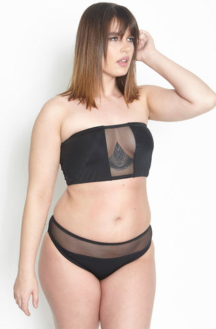 "Rebdolls ""Destination Unknown"" High Waist Swim Bottom - FINAL SALE CLEARANCE"
