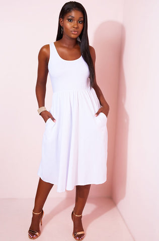 "Unbranded. ""Going Viral"" Chiffon Maxi Dress"