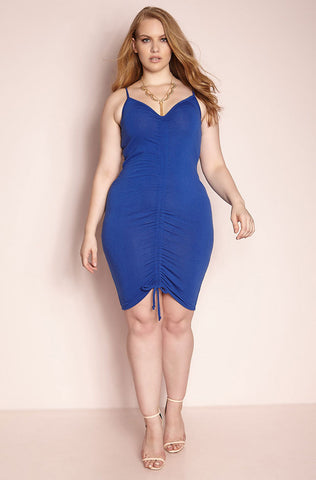 "Rebdolls ""Sample It"" Tie Waist Mini Dress"