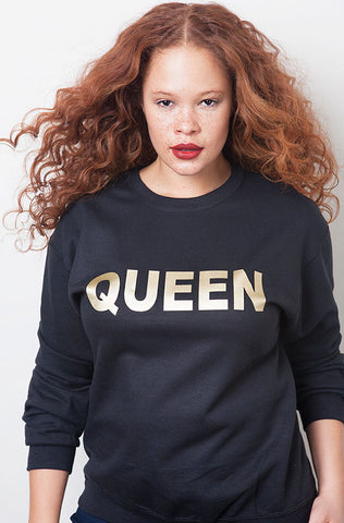 "Rebdolls ""Too Good"" Over The Shoulder Raw-Cut Sweatshirt"