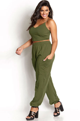 "Rebdolls ""Took The Night"" Wide Leg Pants"