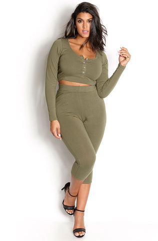 "Rebdolls ""Not Yours"" Cowl Neck Pant Set"