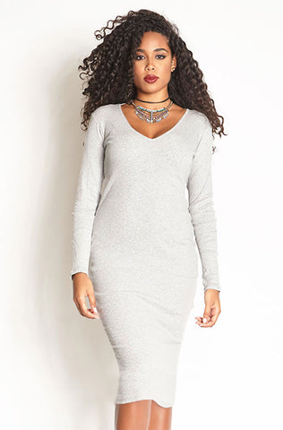 Rebdolls Essential 3/4 Sleeve Crew Neck Crop Top