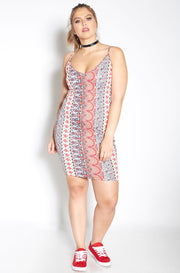 Pink Bodycon Mini Dress plus sizes