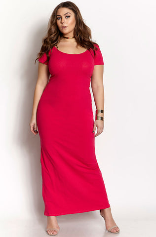 "Rebdolls ""In Control"" Maxi Dress"
