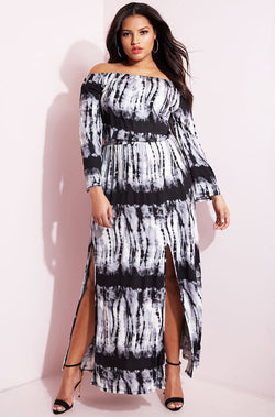 "5af650903ae8 Rebdolls ""Serious Role"" Over The Shoulder Maxi Dress FINAL SALE ..."