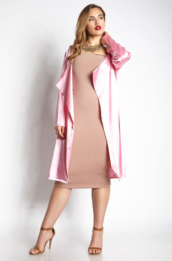 Pink Duster plus sizes