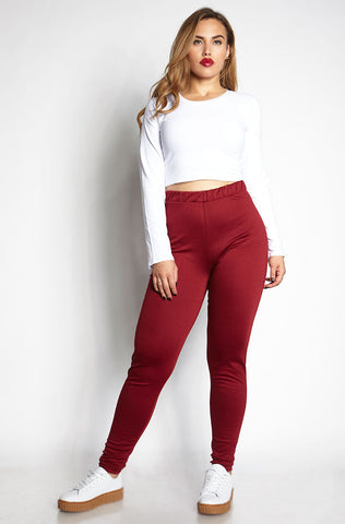"Rebdolls ""Feels Like Love"" Ponte Pants With Pockets"