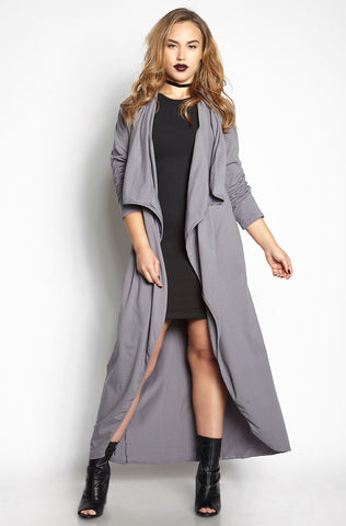 "Rebdolls ""MoonLight"" Satin Sleeveless Duster With Choker"