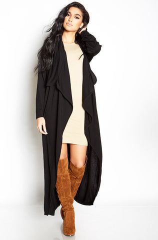 "Rebdolls ""Living Lavish"" Back Slit Blazer With Pockets"
