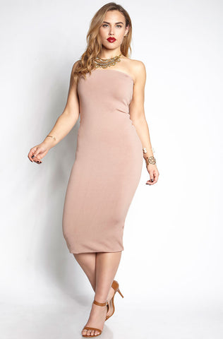 "Rebdolls ""Rose Baby"" Midi Dress"