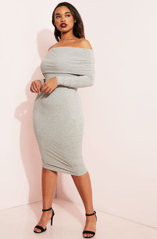 "Rebdolls ""Love Yourself"" Bodycon Maxi Dress"