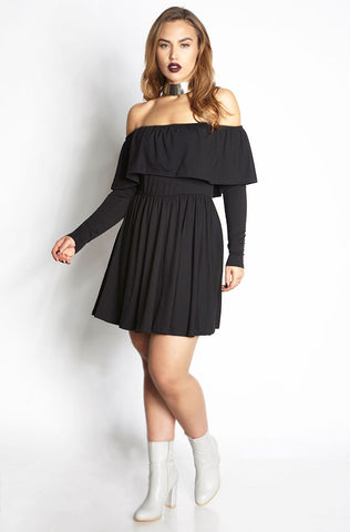"Rebdolls ""All Falls Down"" Short Sleeve Skater Dress"
