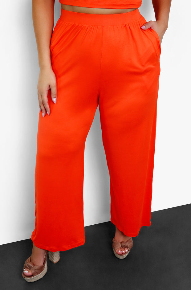 "Rebdolls ""Till It's Gone""  Palazzo Pants With Pockets"