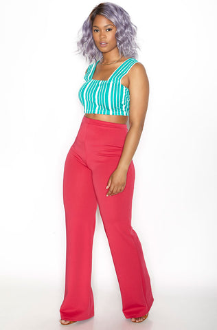"Rebdolls ""Under The Sea"" Bell Bottom Pants"
