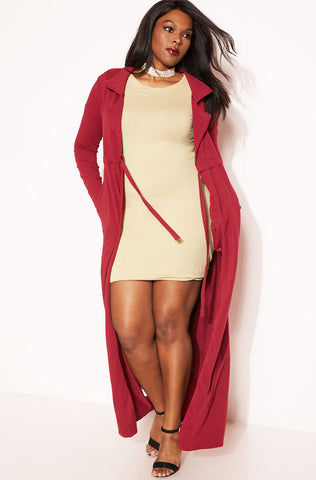 "Rebdolls ""Don't Wait"" Sleeveless Duster"