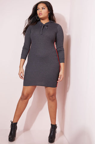 "Rebdolls ""Unprecedented"" Puff Sleeve Midi Dress"