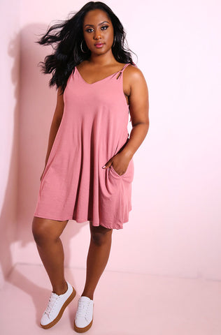 "Rebdolls ""Just Friends"" Knotted Maxi Dress"