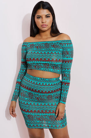 "Rebdolls ""Butterfly Effect"" Ruffled Crop Top"