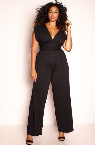 "Rebdolls ""Under The Moon"" Halter Bell Bottom Jumpsuit"