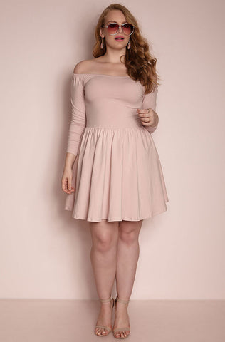 "Rebdolls ""So What?"" Over the Shoulder Mini Dress"