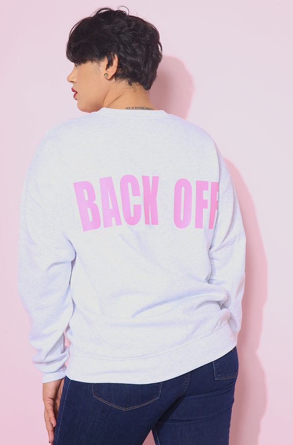 "Rebdolls ""Back Off"" Sweatshirt"