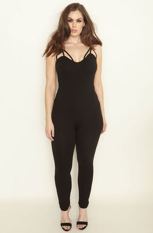 "Rebdolls ""Going Under"" Tank Style Jumpsuit - FINAL SALE CLEARANCE"