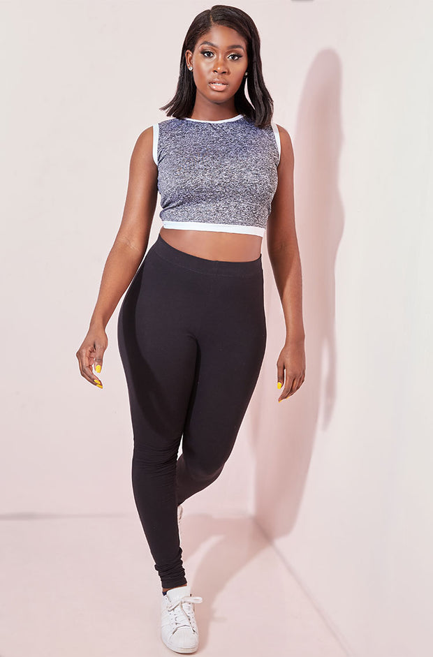 Black Leggings Plus Sizes
